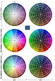 Download a zipped copy of the Colour Wheel tool for Photoshop 7 or CS — 167 KB.